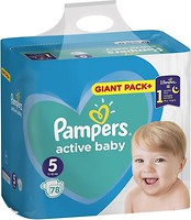 Фото Pampers Active Baby Junior 5 (78 шт)