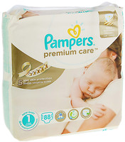 Фото Pampers Premium Care Newborn 1 (88 шт)