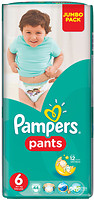 Фото Pampers Pants Extra Large 6 (44 шт)