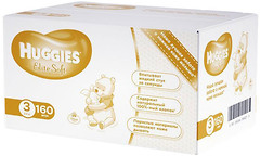 Фото Huggies Elite Soft 3 (160 шт)