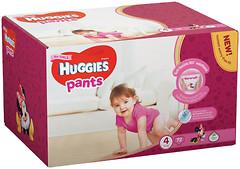 Фото Huggies Pants 4 для девочек (72 шт)