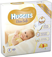Фото Huggies Elite Soft 2 (80 шт)