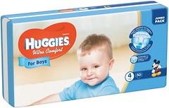 Фото Huggies Ultra Comfort 4 для мальчиков (50 шт)