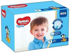 Фото Huggies Ultra Comfort 5 для мальчиков (84 шт)