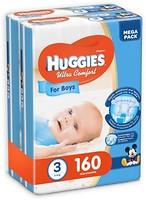 Фото Huggies Ultra Comfort 3 для мальчиков (160 шт)