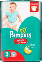 Фото Pampers Pants Midi 3 (60 шт)