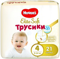 Фото Huggies Elite Soft Pants 4 (21 шт)