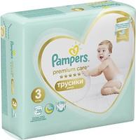 Фото Pampers Pants Premium Care Midi 3 (28 шт)