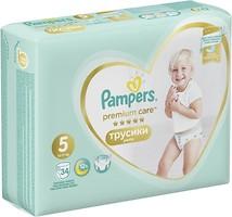 Фото Pampers Pants Premium Care Junior 5 (34 шт)