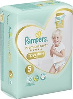 Фото Pampers Pants Premium Care Junior 5 (20 шт)