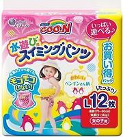 Фото Goo.N Трусики для плавания для девочек L (12 шт)