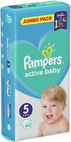 Фото Pampers Active Baby Junior 5 (60 шт)