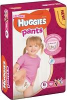 Фото Huggies Pants 6 для девочек (30 шт)