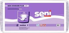 Фото Seni Подгузники для взрослых Standard Plus Air Medium (75-110 см) 30 шт