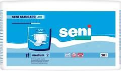 Фото Seni Подгузники для взрослых Standard Air Medium (75-110 см) 30 шт