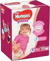 Фото Huggies Pants 6 для девочек (60 шт)