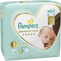 Фото Pampers Premium Care Newborn 1 (26 шт)