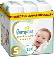 Фото Pampers Premium Care Junior 5 (136 шт)