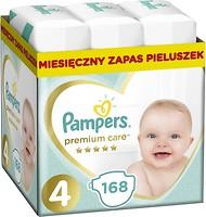 Фото Pampers Premium Care Maxi 4 (168 шт)