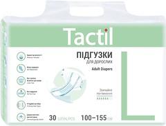 Фото Tactil Подгузники для взрослых Adult Large (100-155 см) 30 шт
