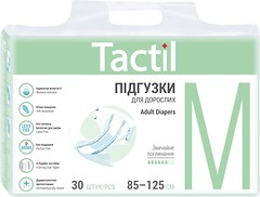 Фото Tactil Подгузники для взрослых Adult Medium (85-125 см) 30 шт