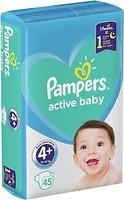 Фото Pampers Active Baby Maxi Plus 4+ (45 шт)