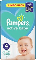 Фото Pampers Active Baby Maxi 4 (70 шт)