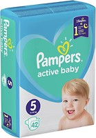Фото Pampers Active Baby Junior 5 (42 шт)