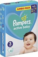 Фото Pampers Active Baby Midi 3 (82 шт)