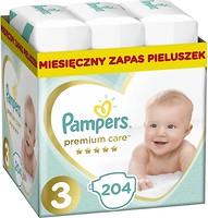 Фото Pampers Premium Care Midi 3 (204 шт)