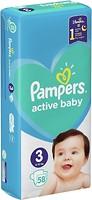 Фото Pampers Active Baby Midi 3 (58 шт)