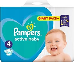 Фото Pampers Active Baby Maxi 4 (90 шт)
