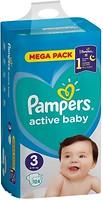 Фото Pampers Active Baby Midi 3 (124 шт)