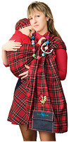 Фото Василинка Слинг с кольцами Шотландка