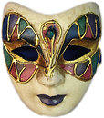 Фото Arjuna Маска карнавальная Венецианская 23 см (29032)