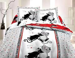 Фото ТЕП 821 Коты двуспальный Евро