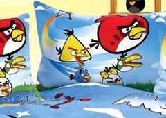 Фото Love You CH 007 Angry Birds Наволочка