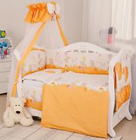 Фото Twins Comfort Переменная постель Горошки оранжевый (C-021)
