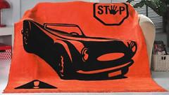 Фото Lotus Retro Car 150x200 оранжево-черный