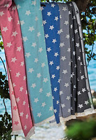 Фото Barine Stars throw pembe 130x170
