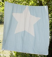 Фото Barine North star throw blue 130x170