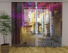 Фото Wellmira фототюль Арка в цветах 260x250