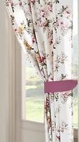 Фото Apolena штора Цветущий сад 135x270 бежево- розовая (26-9698/1)