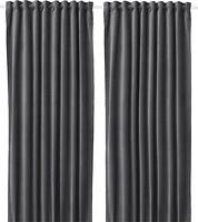 Фото IKEA Sanela темно-серая 140x300 (404.140.22)