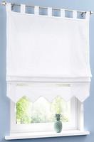 Фото Bonprix Римская штора Илона петли 100x140 белая