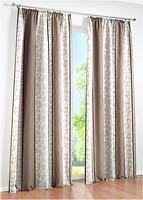 Фото Bonprix Штора Эстель тесьма 140x245 серо-коричневая (959603)