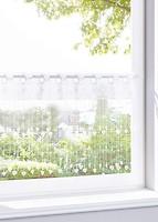 Фото Bonprix Штора для кухни Маура петли 90x45 белая (923211)