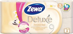 Фото Zewa Туалетная бумага Deluxe Aroma Spa 3-слойная 8 шт