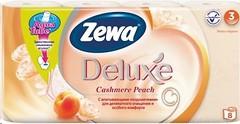 Фото Zewa Туалетная бумага Deluxe Cashmere Peach 3-слойная 8 шт
