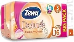 Фото Zewa Туалетная бумага Deluxe Cashmere Peach 3-слойная 4 шт